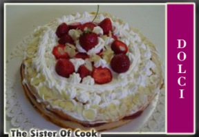 Torta fragole
