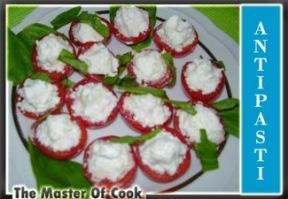 Coppette di pomodorini con feta