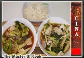 Tofu in con verdure