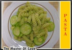 Fusilli con salsa di zucchine