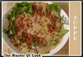 Zuppa di fagioli passata