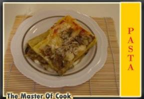 Lasagne con carciofi e funghi