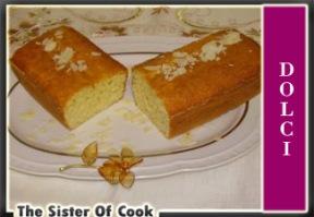 Plum cake al cocco