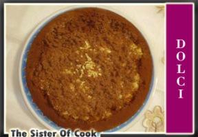 Torta al cioccolato ripiena di crema