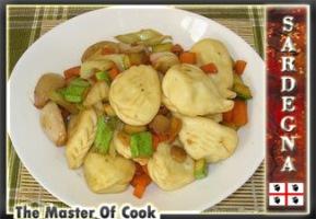 Ravioli di patata converdure