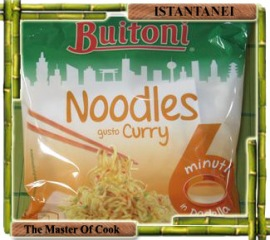 Noodles al curry buitoni 1