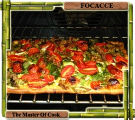 Focaccia messinese (sort of)