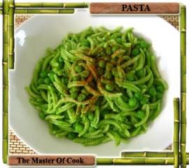 Malloreddus con salsa di foglie di sedano