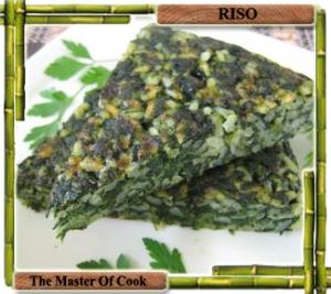 Torta di riso e spinaci
