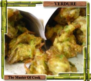 Frittelline di carciofo e zucchina