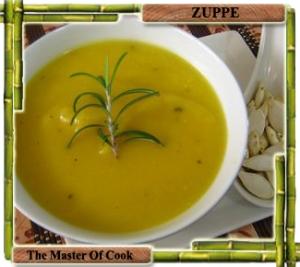 Zuppa di zucca arrosto