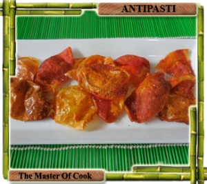 Chips di bucce di pomodoro