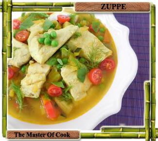 Zuppa speziata di pesce